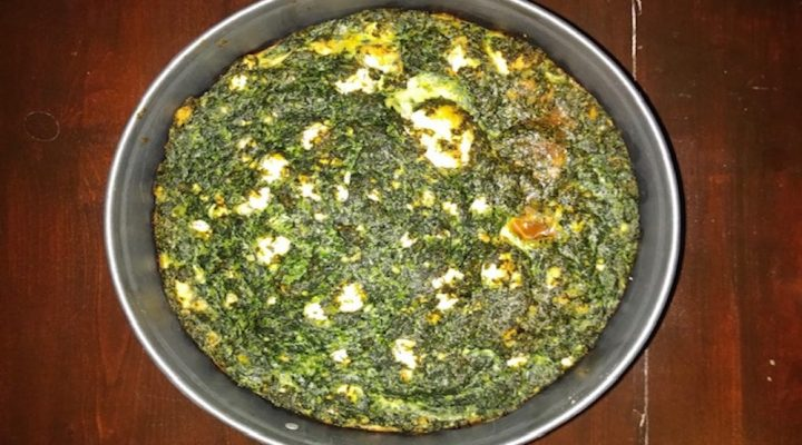 (Glutenvrije) spinazietaart
